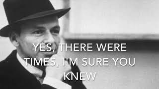 My way - Frank Sinatra - Karaoke female version high (+5) G key