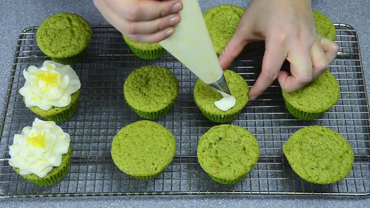 Hướng dẫn cách làm bánh cupcake trà xanh matcha  | Uji-matcha.vn