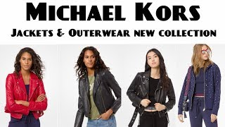Michael Kors women Jackets & Outerwear New Collection 2019