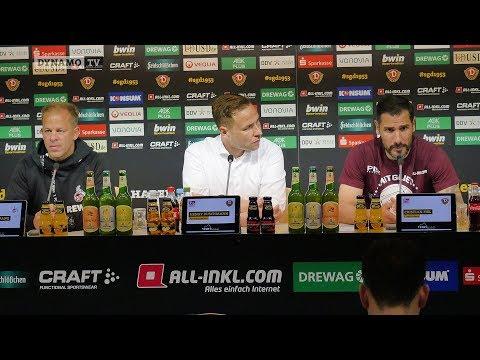 30. Spieltag | SGD - KOE | Pressekonferenz nach dem Spiel