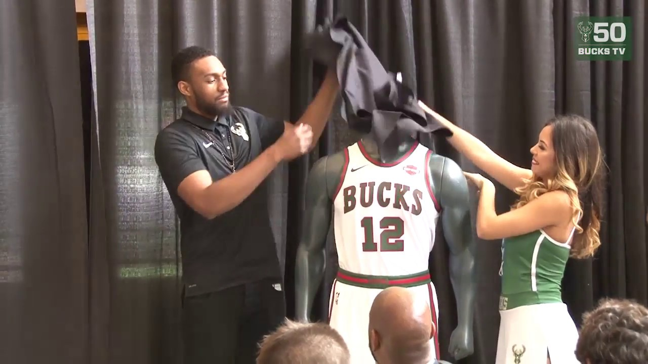 Jabari Parker Unveils Bucks Classic Edition Uniforms - YouTube 165562462