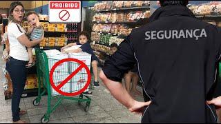 REGRAS DE CONDUTA NO SUPERMERCADO