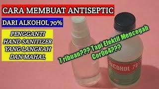 Cara membuat antiseptic dari alkohol 70 ...