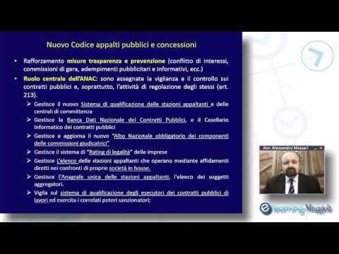 Il nuovo Codice degli appalti pubblici e dei contratti di concessione