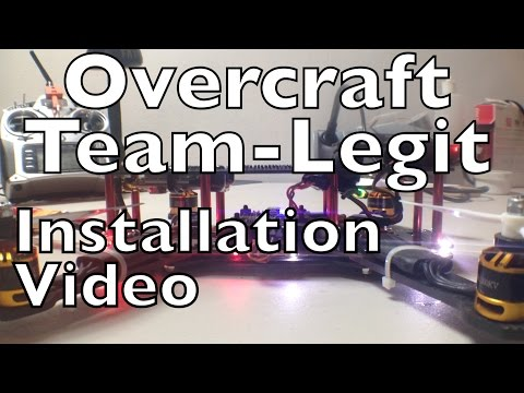 Team-Legit Overcraft PDB Installation ZMR250 *Read Safety note in description!