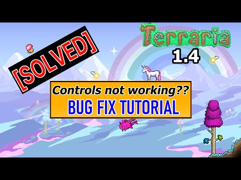Terraria 1.4  Tutorial | Guide | Bug Fix Tutorial |  Control's Not Working! [Solved] | 2020