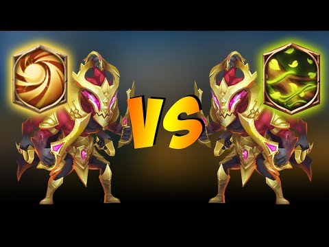 Sacred Light Vs Vital Boon On Asura... WHO WINS?! Castle Clash
