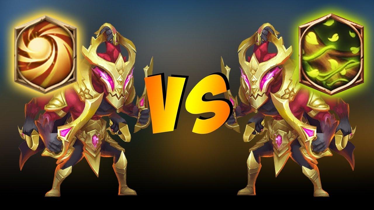 Sacred Light vs Vital Boon on Asura    WHO WINS?! Castle Clash