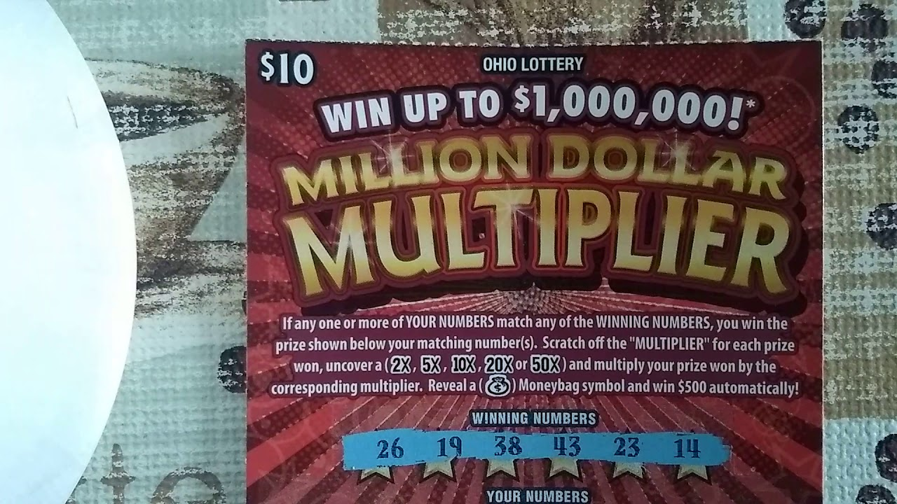 New Ohio Lottery Million Dollar Multiplier Youtube