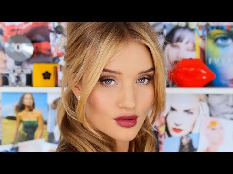 Get Ready with Rosie Huntington-Whiteley - Gorgeous Makeup & Hair Look