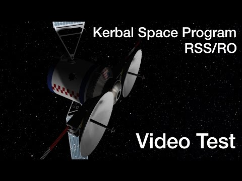 KSP RSS - Two Days in Geostationary Earth Orbit