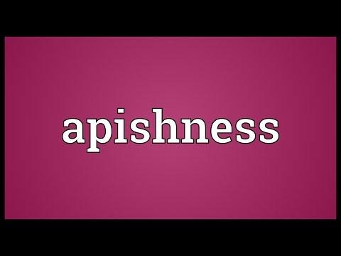 Header of apishness