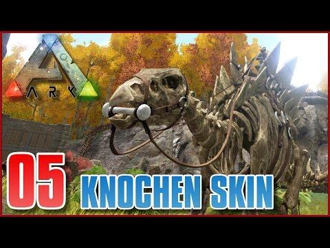 ARK #S8E05 ♦ KNOCHEN SKIN & REX TAMING ♦ Let's Play Ark Survival Evolved [Deutsch]
