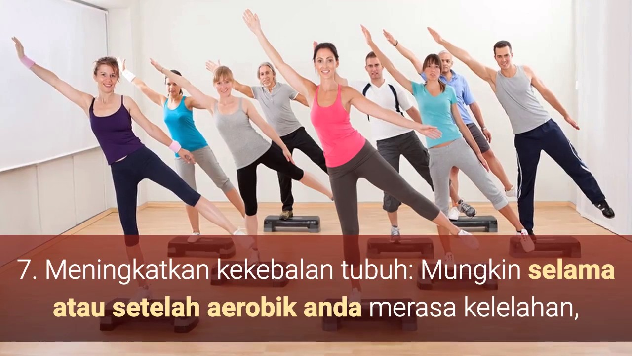 Pengertian dan Manfaat Senam Aerobik Bagi Kesehatan