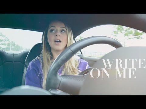 Fifth Harmony - Write On Me (Cover) + Lyrics