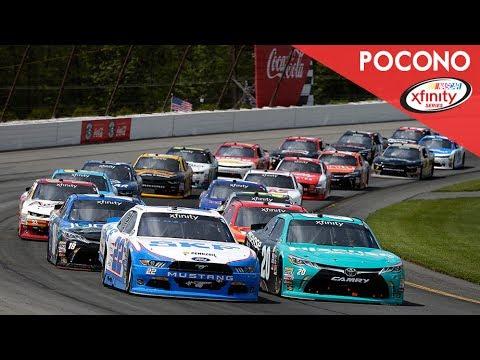 NASCAR XFINITY Series- Full Race -Pocono Green 250 - YouTube