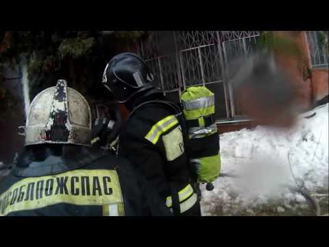 Пожар 16.11.2016, г.о. Лосино-Петровский ул. Первомайская, бывший Монинский камвольный комбинат.