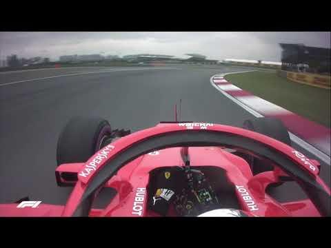 Sebastian Vettel's Pole Lap | 2018 Chinese Grand Prix