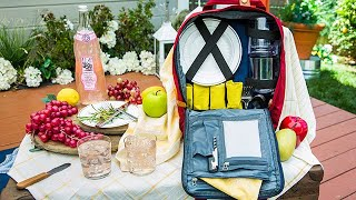 DIY Picnic Backpack - Home & Family