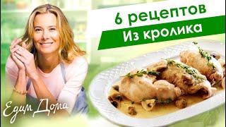Блюда из кролика от Юлии Высоцкой: фрикасе из кролика, томленный кролик, рагу из кролика — Едим Дома