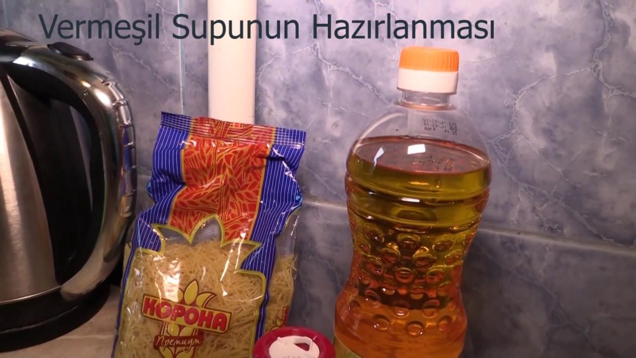 Makaron Şorbası - Sup Ucuz və Asan Resept