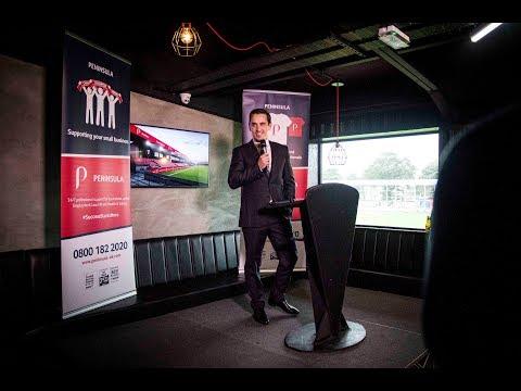 Gary Neville on announcing Peninsula UK as our new stadium sponsor!