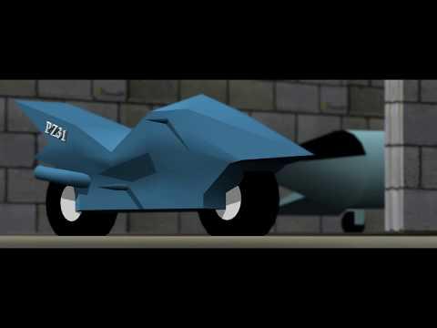 My Unfinished 3D Animation [ Images ] | PZ31 Plane | Shaik Parvez