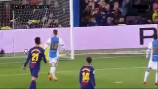 Barcelona vs Leganes |2-0| •First half. Messi goals 7/4/18 HD.