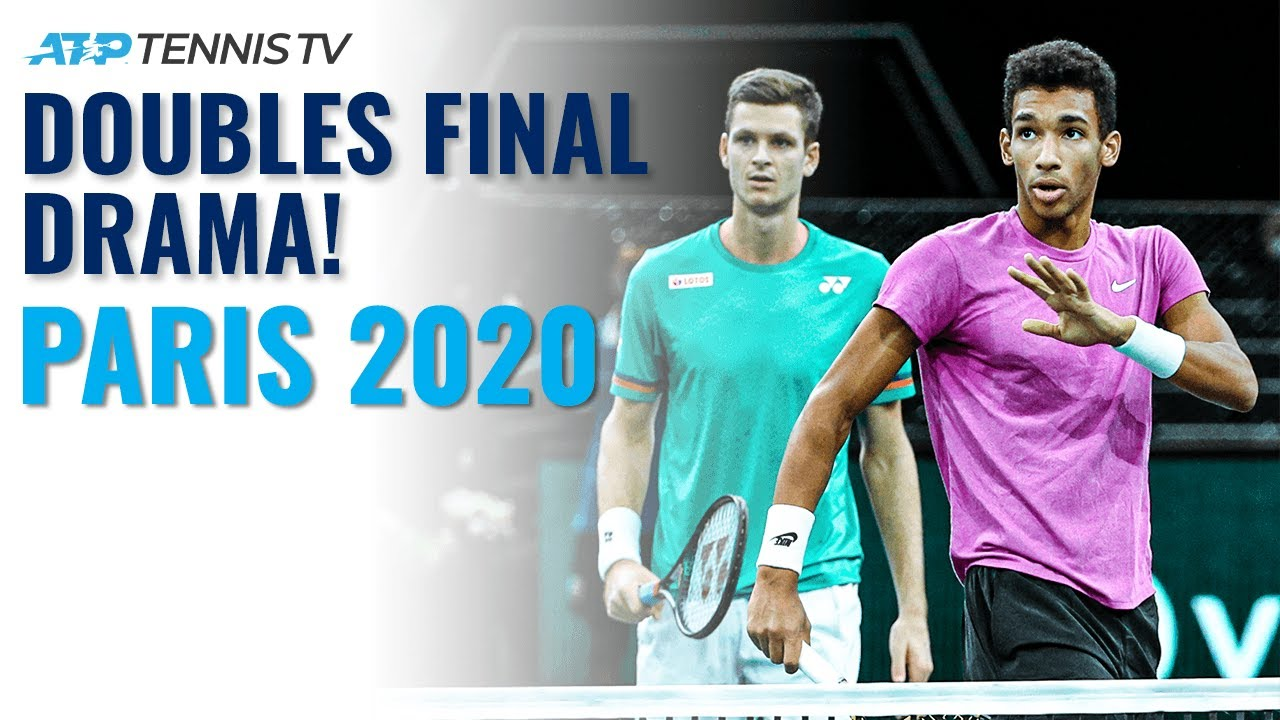 Auger-Aliassime & Hurkacz First Doubles Title DRAMA!   Paris 2020 Highlights
