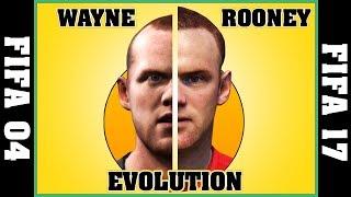 WAYNE ROONEY evolution [FIFA 04 - FIFA 17] ⚽