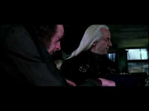 """Chamber of Secrets"" Lucius and Draco Malfoy  deleted scene"