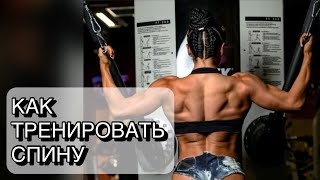 Как тренировать спину? Почему я не чувствую мышцы спины на тренировках?