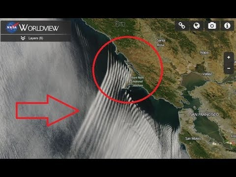 Nasa No Lo Oculta Satelite Capta Raras Nubes Donde Se Forman Huracanes