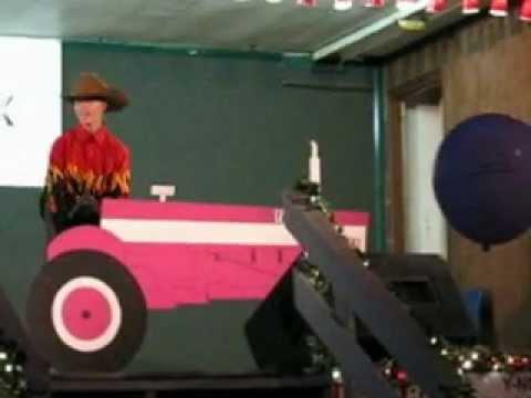 Pretty Pink Tractor Tomato Show 2012 David