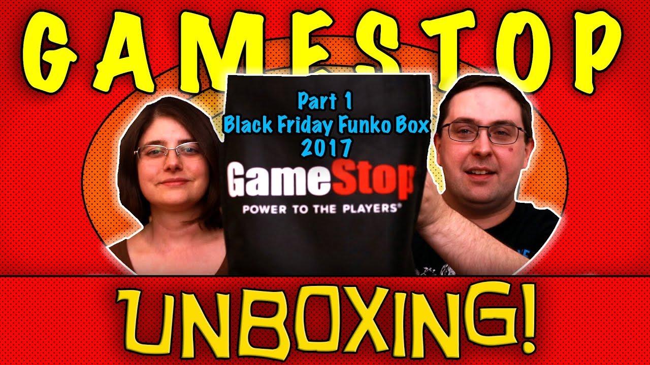 Unboxing Gamestop Black Friday Funko Mystery Box 2017