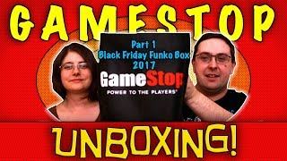Unboxing! Gamestop Black Friday Funko Mystery Box 2017 - First Three Boxes