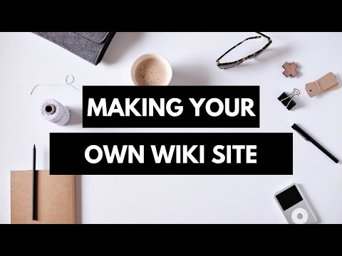 Learn Creating Your Own Wiki: with Quick Programming
