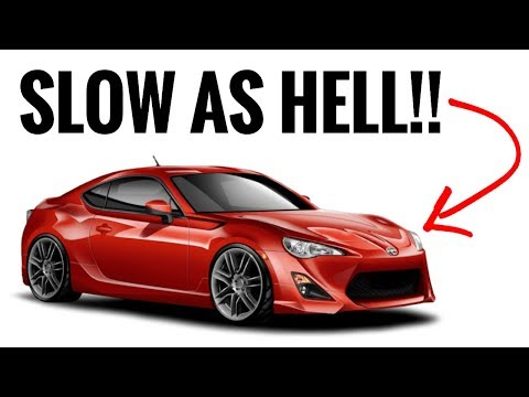10 SLOW Cars People THINK ARE FAST!