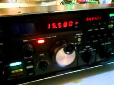 African based HF stations on Yaesu FRG-7000, 30/06/2014
