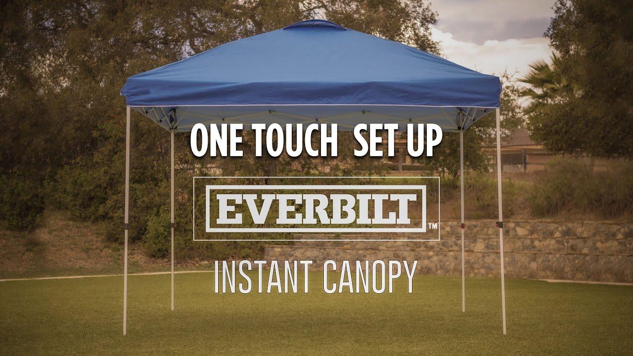 10' x 10' Straight Leg Canopy - Everbilt