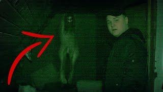 Spøgelser i hjemsøgt hus! *Uhyggeligt*