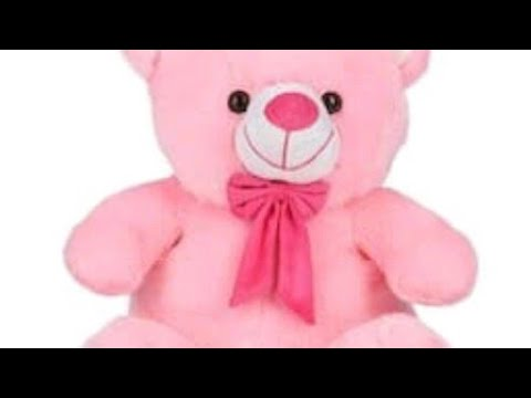 soft toy teddy bear make at home+soft toy