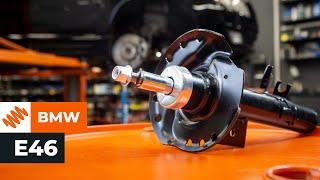 Как се сменят задни амортисьори на  BMW 3 E46  урок | Autodoc