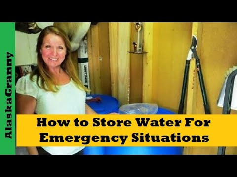 How to Store Water For Emergency Situations Long Term Storage Ideas  sc 1 st  YouTube : long term storage of water  - Aquiesqueretaro.Com