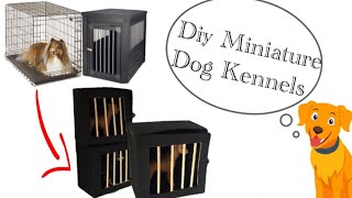 Schleich Dog Craft: Large Dog Kennels| Schleich Dog Adoption Fair