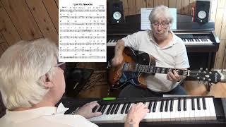 I Love You, Samantha - Jazz guitar & piano cover ( Cole Porter )