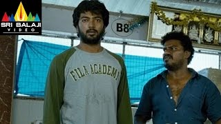 Mask Movie Jeeva Action Scene at Market   Jiiva, Pooja Hegde, Narain   Sri Balaji Video