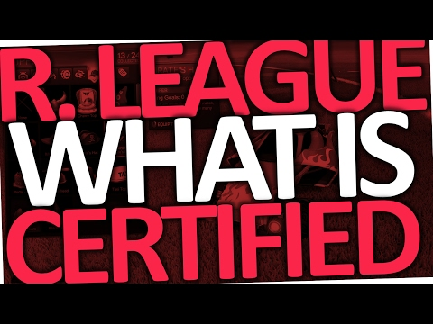 Rocket League What Does Certified Mean (Items)
