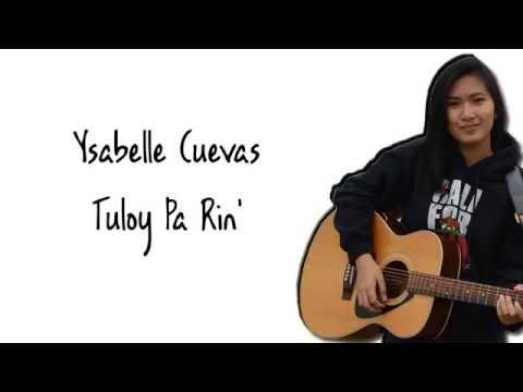 Ysabelle Cuevas - Tuloy Pa Rin (Lyrics)(Neocolours)