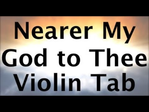 Learn Nearer My God To Thee on Violin - How to Play Tutorial